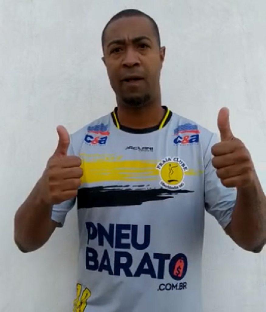 Crédito: Reprodução - Macdovall jogará a primeira LNF pelo Praia Clube