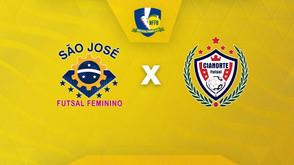 Novo Futsal Feminino Brasil: Transmissão de São José-SP x Cianorte