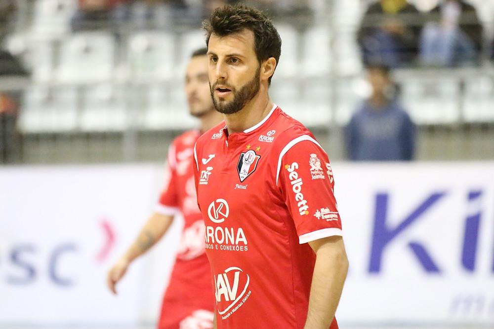 Crédito: Vitor Kortmann - Eka fez história com a camisa do Joinville e agora trocou de time na Europa