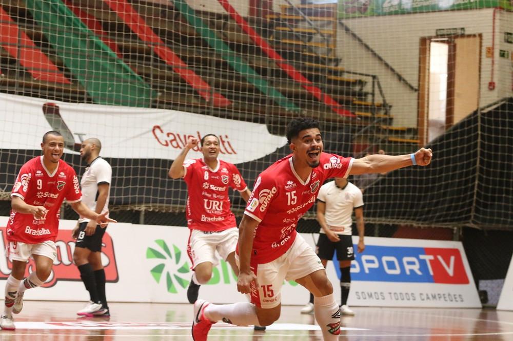 Crédito: Atlântico de Erechim vence a primeira partida Supercopa Magnus de Futsal