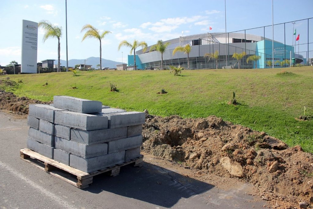 Crédito: Eduardo Montecino - Quadras poliesportivas serão construídas na região
