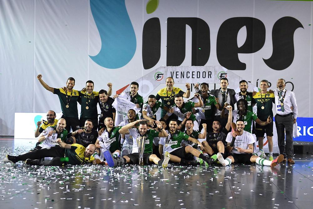 Crédito: FPF - Sporting vence de goleada e garante o título da Taça de Portugal