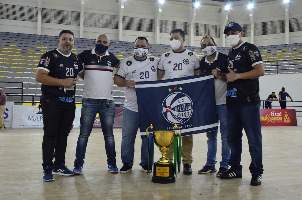 Crédito: Sonora Comunicação - Juventude conquistou o título da Copa Norte de Futsal