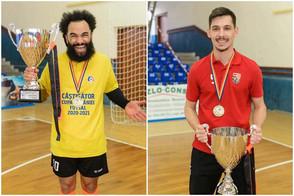 Oitomeia e André Luís são campeões na Romênia
