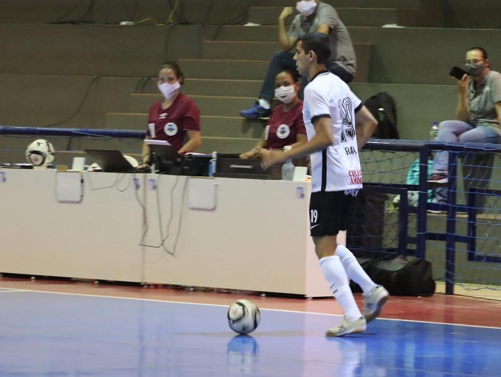 Crédito: Divulgação Real Brasília Futsal - Corinthians assumiu a terceira colocação do grupo A