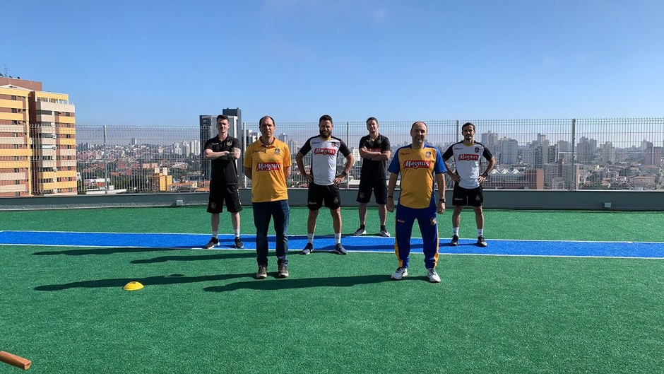 Crédito: Guilherme Mansueto - Treinos ao ar livre, com integração entre outras áreas do clube, foram atrações promovidas pela comissão técnica