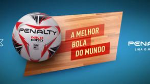 #EUSOUMAX1000: A Bola oficial da Seleção Brasileira de Futsal