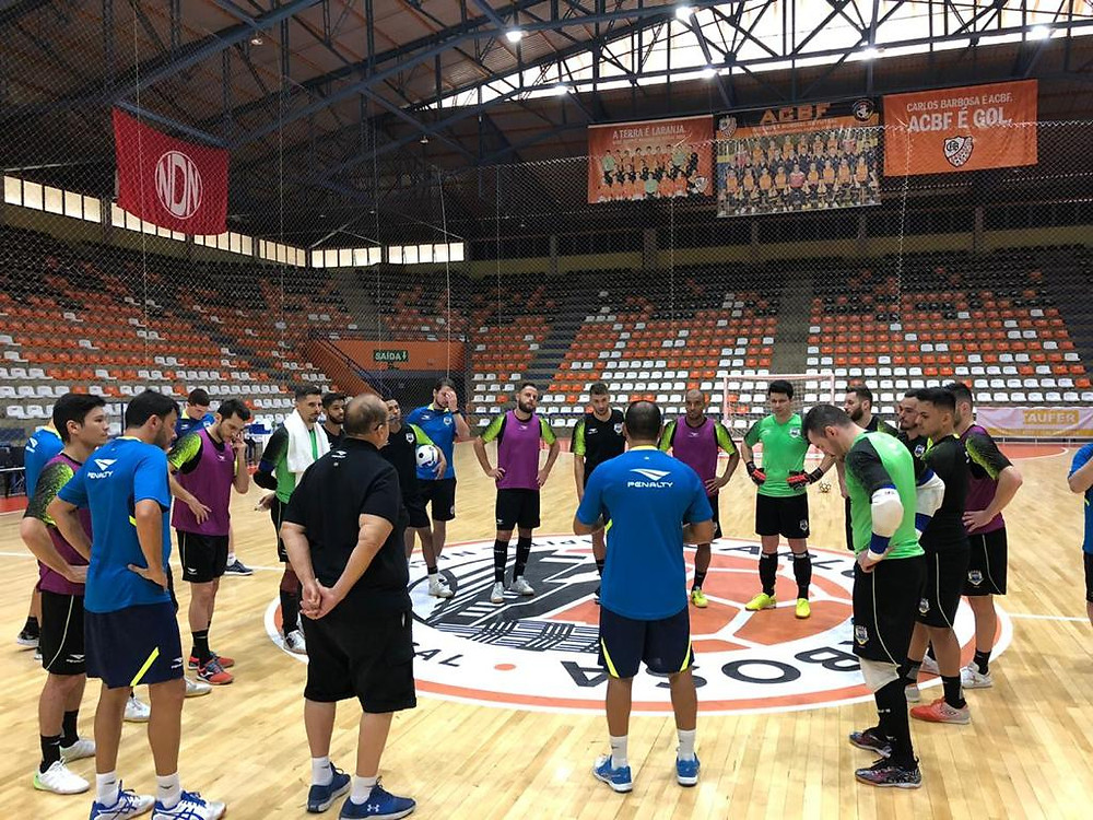 Crédito: Yuri Gomes - Seleção treinando em Carlos Barbosa