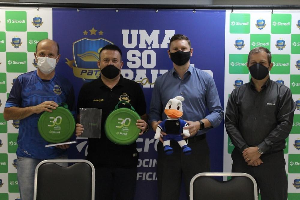 Crédito: Assessoria Pato - Pato e Sicredi oficializam parceria para a temporada 2021