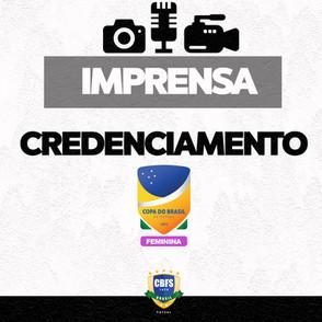 Credenciamento para Copa do Brasil Feminina APCEF/ADEF e Taboao Magnus