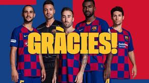 O brasileiro Arthur e mais 4 jogadores não continuarão no Barcelona na próxima temporada