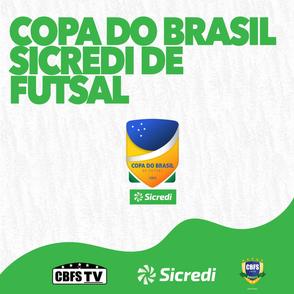 CBFS divulga datas e horários da 1ª fase da Copa do Brasil Sicredi