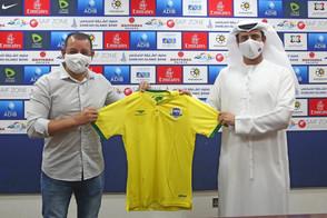 Marquinhos Xavier é apresentado no Sharjah Football Club