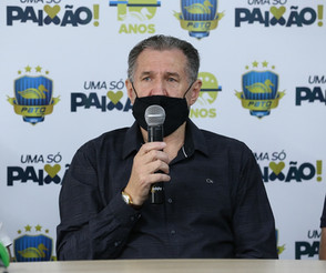 Presidente do Pato, Alcir Camozzato agradece mensagens de apoio após se recuperar da Covid-19