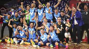 O Inter FS derrota o Barça e é proclamado campeão da Copa de Espanha