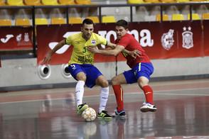 Com boa atuação, Seleção Brasileira sofre derrota em Madrid.