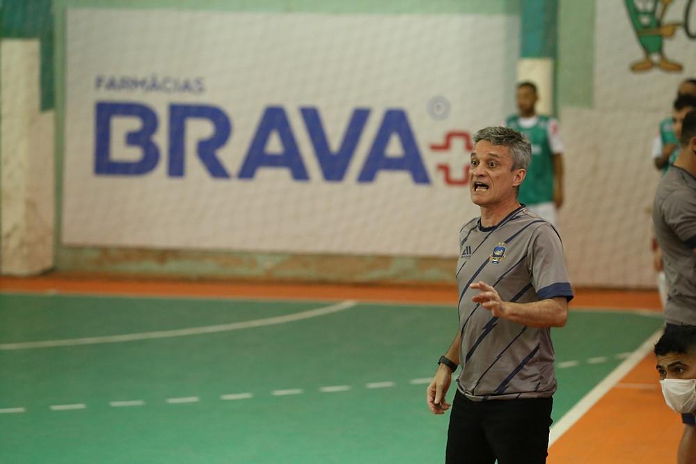 Crédito: Mauricio Moreira - Paulinho Cardoso comanda o Pato Futsal na temporada 2021