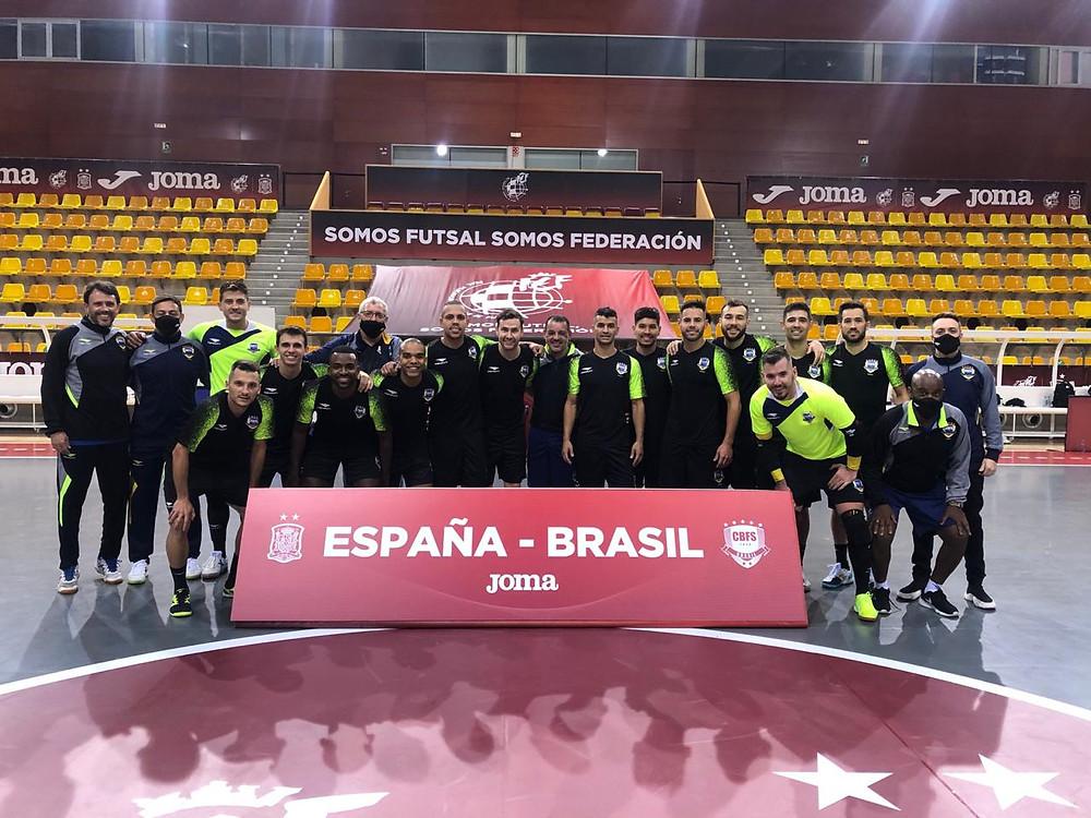 Crédito: CBFS - Seleção Brasileira tem encontro marcado amanhã contra a Espanha