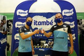 Itambé amplia parceria com o Minas e patrocina também o Futsal