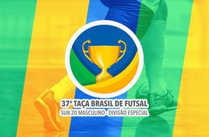 A cidade de Recife recebe a 37ª Edição da Taça Brasil de Clubes Sub-20 Masculino Divisão Especial