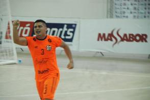 Em jogo de 9 gols, Juventude vence Vivaz e segue 100% na Copa Norte de Futsal