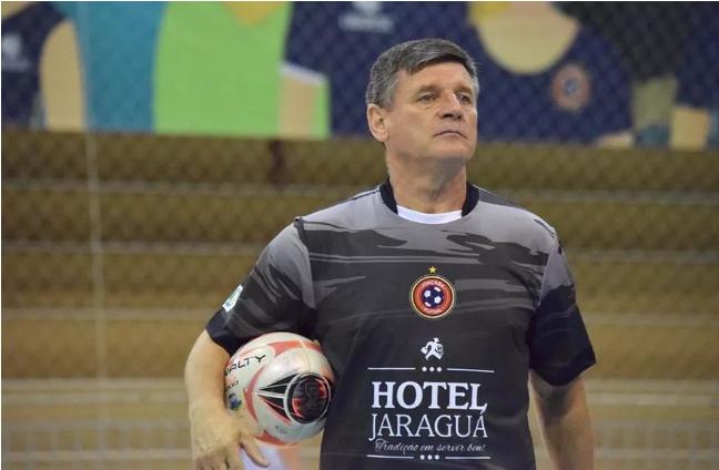Crédito: Mayelle Hall - Paulinho Sananduva, técnico do Joaçaba , destaca que a preparação para essa competição de dois jogos é bem diferente do que para um torneio mais longo.