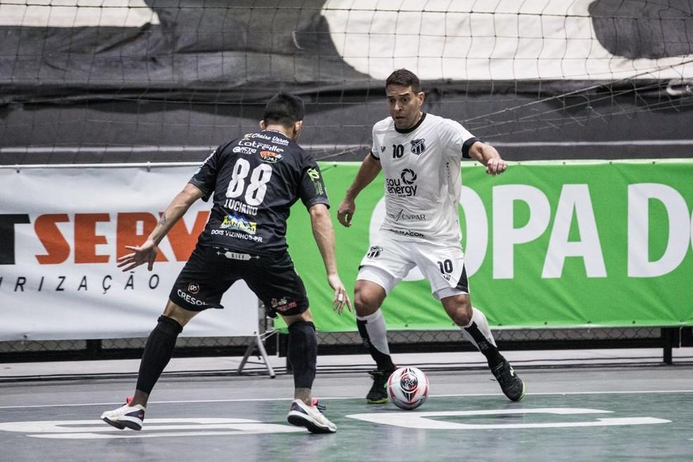 Crédito: Stephan Eilert/Ceará SC - Ceará foi derrotado pelo Dois Vizinhos/PR na temporada 2020 e ficou com o vice-campeonato da Copa do Brasil Sicredi de Futsal