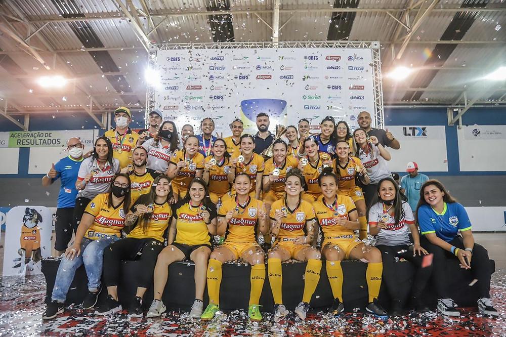 Crédito: Yuri Gomes - Taboao Magnus conquista o bicampeonato da Copa do Brasil Feminina