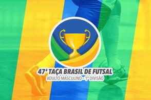 A cidade de Fortaleza recebe a 47ª Edição da Taça Brasil de Clubes Adulto Masculino 1ª Divisão