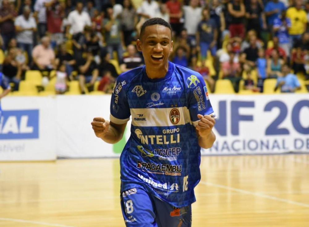 Crédito: Andreia Rosa - Intelli contou com o apoio da torcida para vencer o Corinthians na partida de ida das Oitavas da LNF2019
