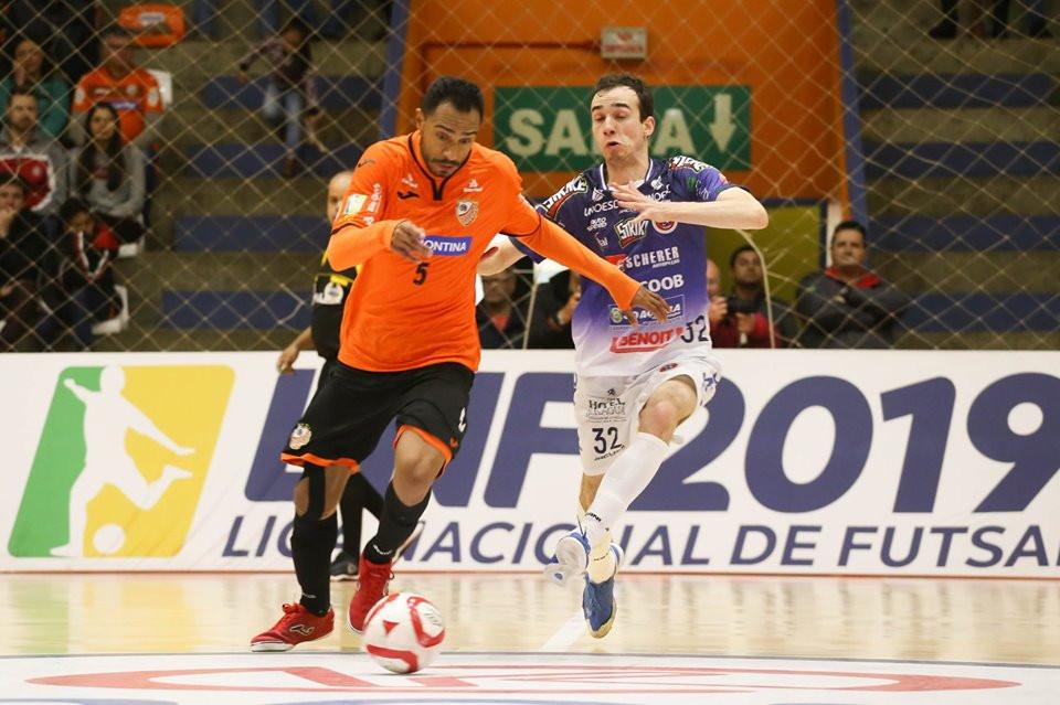 Crédito: Ulisses Castro - ACBF venceu o Joaçaba e avançou às quartas da LNF2019