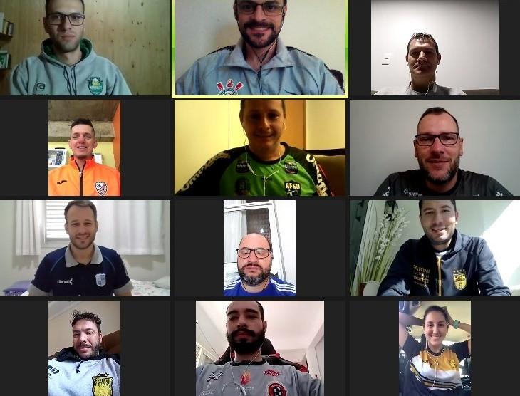 Crédito: Divulgação - Encontro virtual reuniu os fisioterapeutas das equipes da LNF