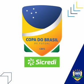 A CBFS divulga datas e horários das finais da Copa do Brasil Sicredi