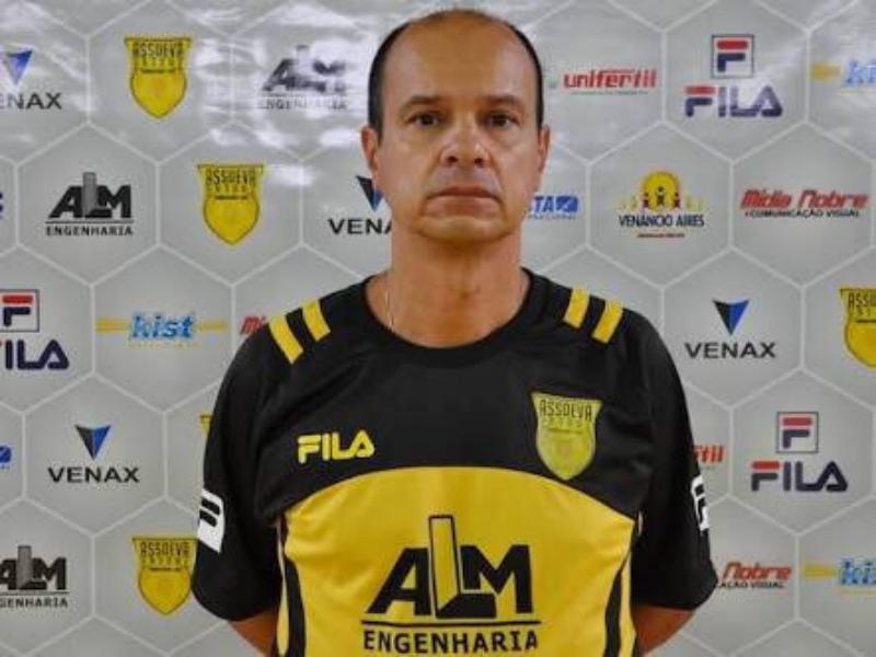 Crédito: Divulgação Assoeva - Morruga já atuou na Assoeva e comandou o time na primeira participação na Liga Nacional de Futsal