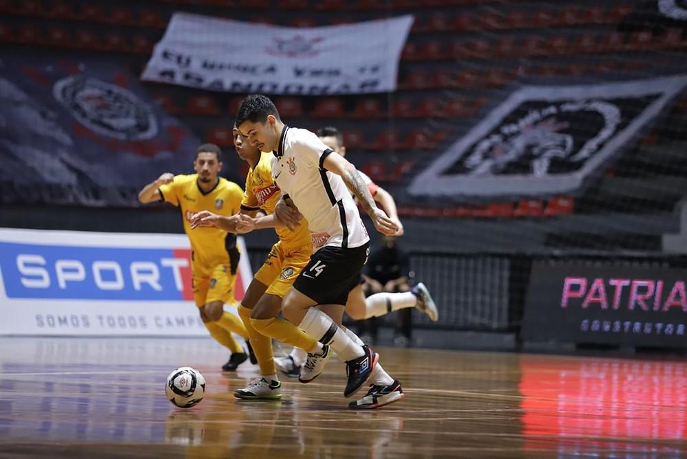 Crédito: Yuri Gomes - Corinthians e Magnus empatam em 1 a 1 na primeira partida da Final