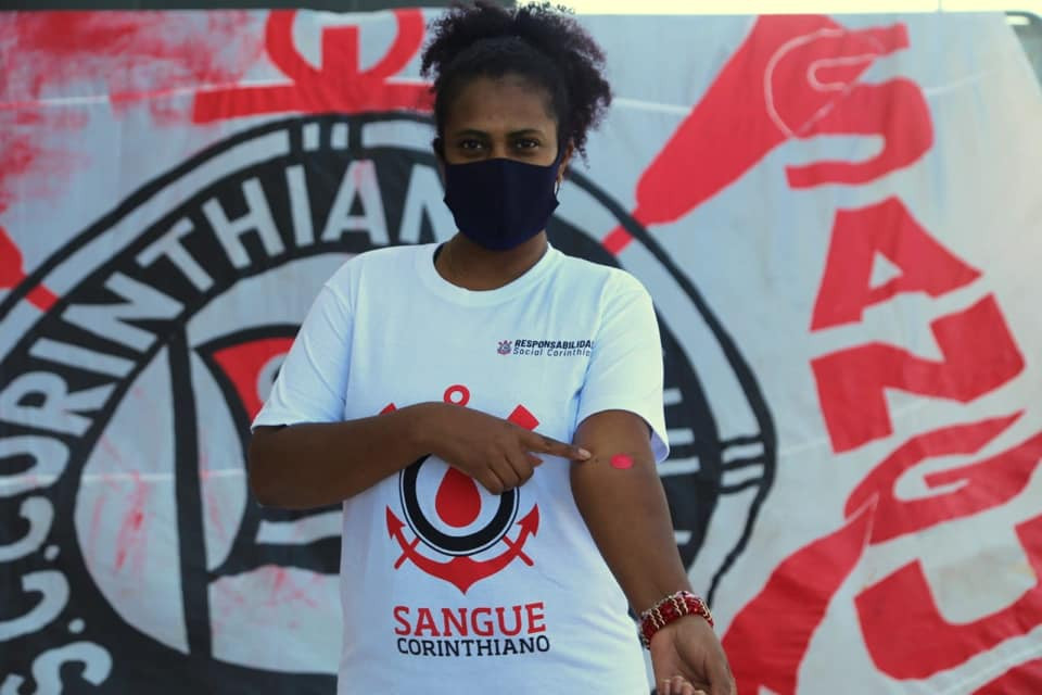 Crédito: José Manoel Hidalgo - Clube e fiel torcida novamente engajados em causas sociais