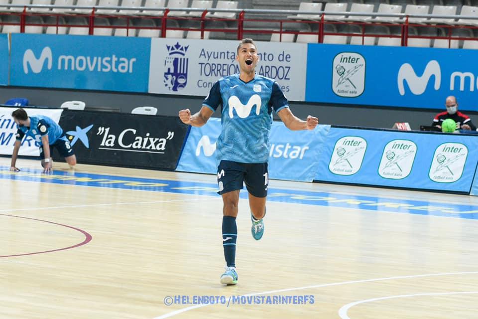 Crédito: InterMovistar - Brasileiro Pito é um dos destaques do time espanhol