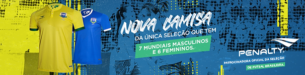 Camisa Seleção Brasileira de Futsal Penalty