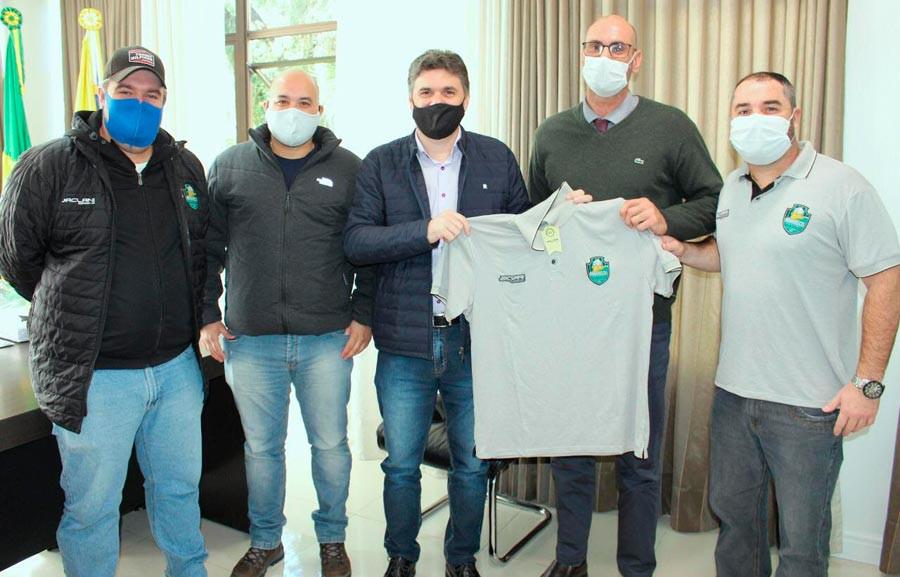 Crédito: Adolfo Pegoraro -  Léo Garcia, Gláucio Amorim, Ricardo Pepe e Ricardo Ronqui