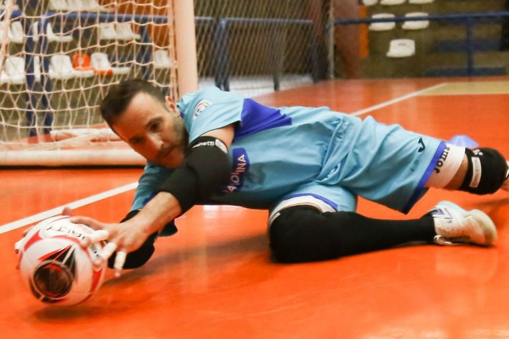 Crédito: Ulisses Castro - Vaghetti, da ACBF, é um dos goleiro mais experientes da LNF