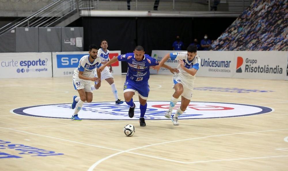 Crédito: Orlando Bento - A Intelli Tempersul encerrou sua participação na 1ª fase da LNF 2020 com empate contra o Minas