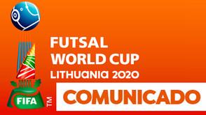 Informações sobre Copa do Mundo Lituânia 2020