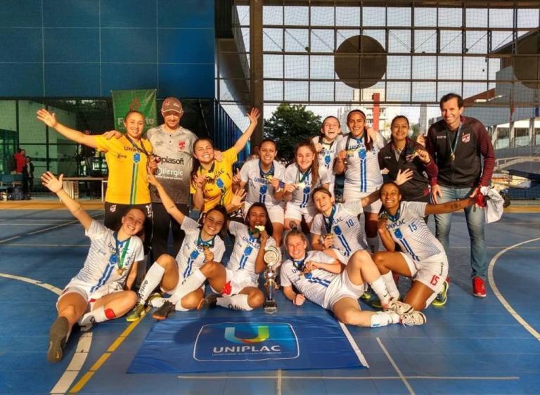 Crédito: Arquivo Pessoal - As Leoas representam a Universidade do Planalto Catarinense (Uniplac) nos Jogos Universitários Catarinense.