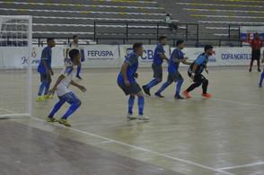 Esmac vence Oratório-AP e assume liderança  da Copa Norte de Futsal