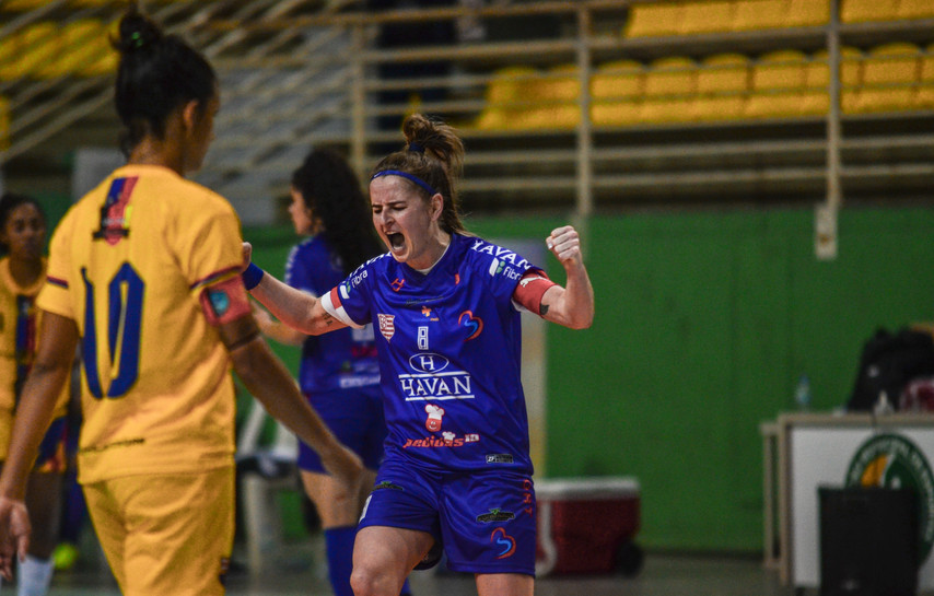 Barateiro Havan Futsal consegue a vitória nos minutos finais e chega aos 13 pontos