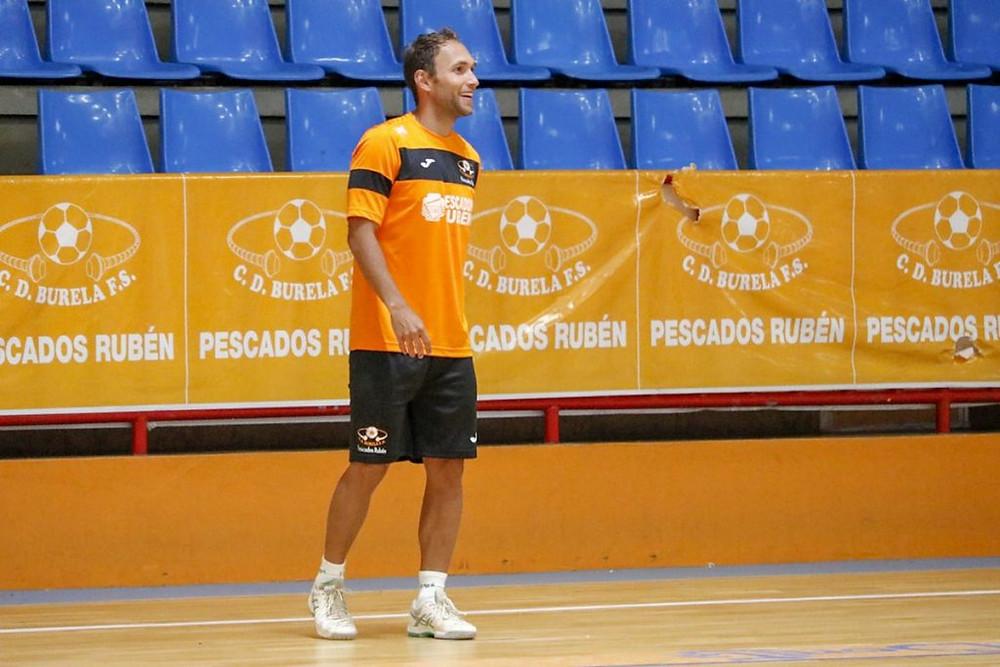 Crédito: Reprodução Twitter - Pixote estava atuando no CD Burela FS, da Espanha