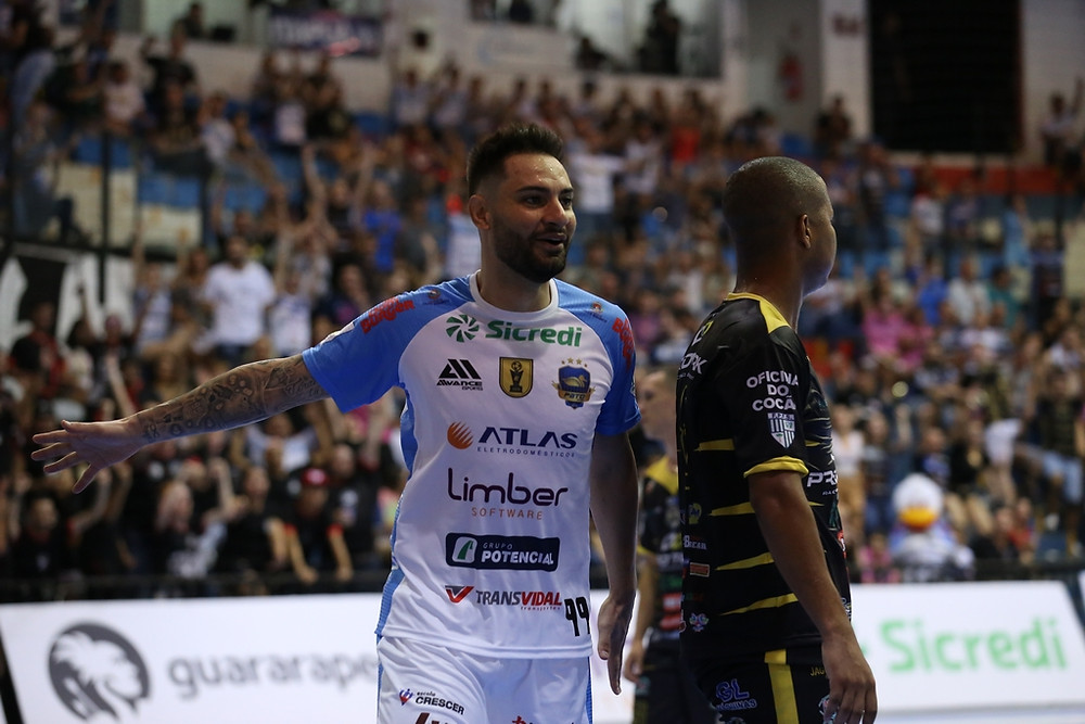Crédito: Mauricio Moreira - Caio Júnior chegou a balançar a rede na estreia do Pato no Paranaense 2020