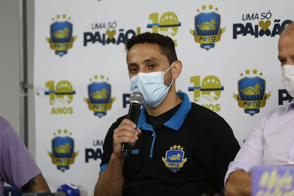 Crédito: Mauricio Moreira - Caio reforça o Pato para a sequência da temporada 2020