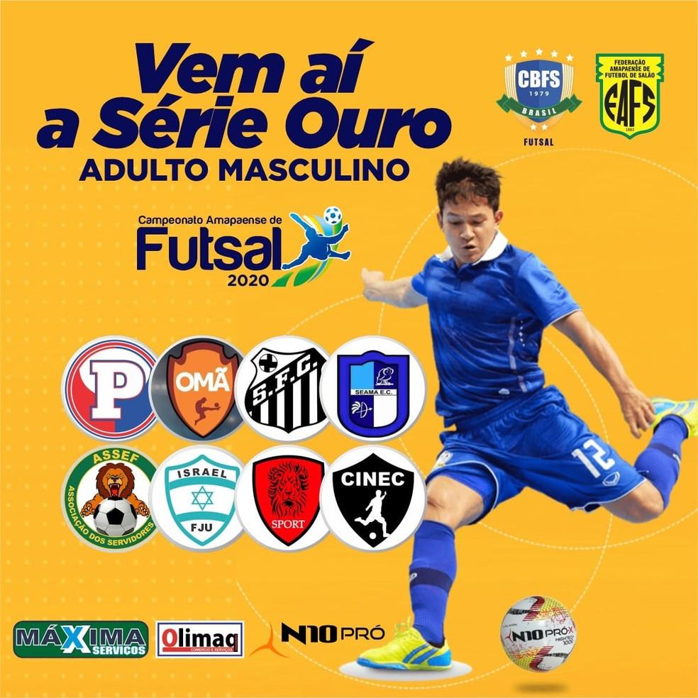 Crédito: Divulgação/FAFS - Série Ouro - Futsal