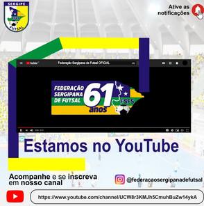 Federação Sergipana fará uma Live exclusiva falando de Futsal feminino